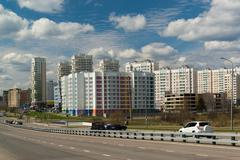 Moscow, Russia-April 24.2016. Zelenograd - Administrative District of Moscow Stock Photos