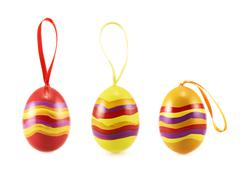 Easter egg with a loop ribbon set Kuvituskuvat