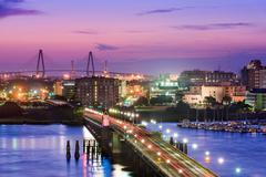 Charleston South Carolina Kuvituskuvat