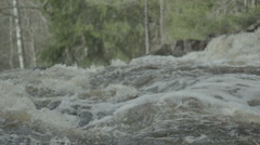 Water stream in slow motion, 200fps  Stock Footage