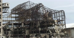 Demolished Hershey factory in cuba (Sugar central) Stock Footage