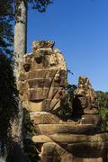Ruins of Angkor Wat - stock photo