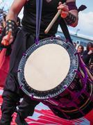 Musicians play drums Kuvituskuvat