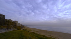 Time-lapse feat. Bay in Beirut, Ramlet Albayda Stock Footage