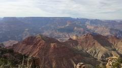 Amazing view of grand canyon, Arizona Stock Footage