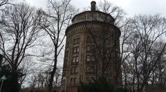 Prenzlauer Berg Museum. Berlin. Tower. Prenzlauer Berg. Stock Footage