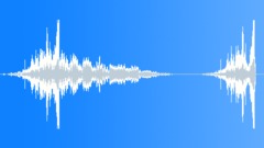 Glass whoosh boom 01 Sound Effect
