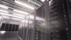 Server Room - stock footage