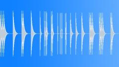 Metallic hits (recording) Sound Effect