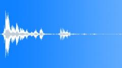 One long thunder no 3 medium rain (recording) Sound Effect
