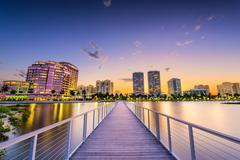 West Palm Beach Stock Photos