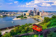 Pittsburgh Pennsylvania Skyline Kuvituskuvat