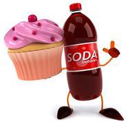 Soda Stock Illustration