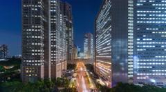 Shinjuku Tokyo Cityscape - stock footage