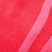 square background - red silk textile - stock photo