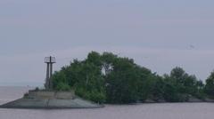 Lighthouse in Ukraine Stock Footage