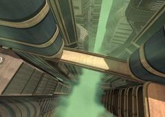 3D Rendering Futuristic City Piirros