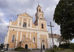 Catholic Church, Grodno - stock photo