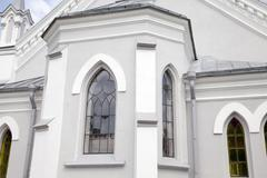 Lutheran Church in Grodno - stock photo