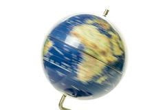 World globe spinning Stock Photos