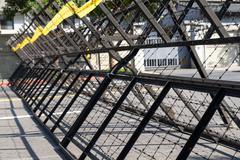 Riot barriers Kuvituskuvat
