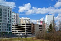 Moscow, Russia-April 24.2016. Zelenograd - Administrative District of Moscow - stock photo