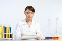 GMO check Stock Photos