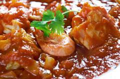 Sopa de Peixe Stock Photos