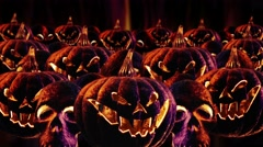 Halloween seamless animation background Stock Footage