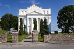 Catholic Church  Belarus - stock photo