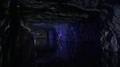 4k Jhaishan Tunnel in Kinmen, Taiwan. Stock Footage