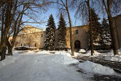Fortress   Grodno, Belarus - stock photo
