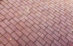 paving tiles, close-up - stock photo