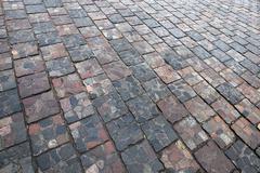Paving tiles, close-up Stock Photos