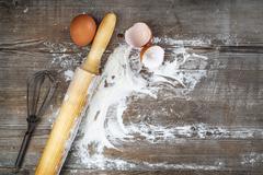 Culinary still life Stock Photos