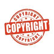 Copyright vector illustration stamp Stock Illustration