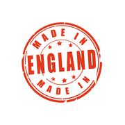Made in England vector illustration stamp - stock illustration