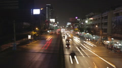Bangkok city  timelapse Stock Footage