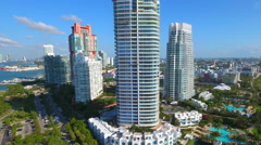 Invest in Miami Beach real estate - stock footage