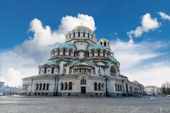 Alexander Nevsky Cathedral - stock photo