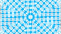 Background blue tile star pattern Stock Footage