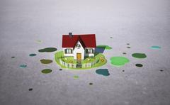 Illustrative image of house model Stock Illustration