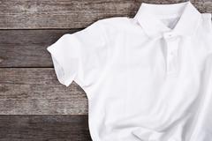 White shirt Stock Photos