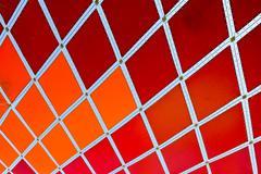 Mosaic Outdoor Sunshade Stock Photos