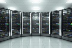 Server room in datacenter Piirros