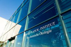 JENA, GERMANY - MAY, 08, 2011: Max Planck Institute for Chemical Ecology is l Stock Photos