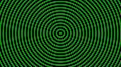 Background with shifting concentric  pattern Stock Footage