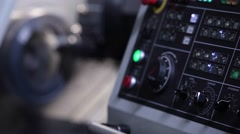 Focus moves to milling process Stock Footage