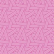 Seamless Interweaving Lines Nature Vector Pattern Stock Illustration