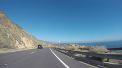 Timelapse of Driving Through Palos Verdes Stock Footage